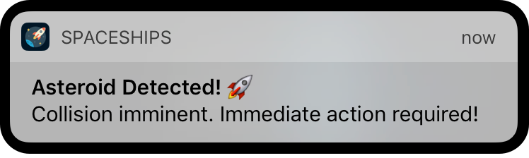 - 258 5 - #258: User Notifications Framework Basics 💭 – Little Bites of Cocoa – Tips and techniques for iOS and Mac development