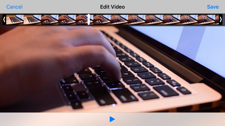 - 303 1 - #303: Editing Videos in UIKit 📼 – Little Bites of Cocoa – Tips and techniques for iOS and Mac development